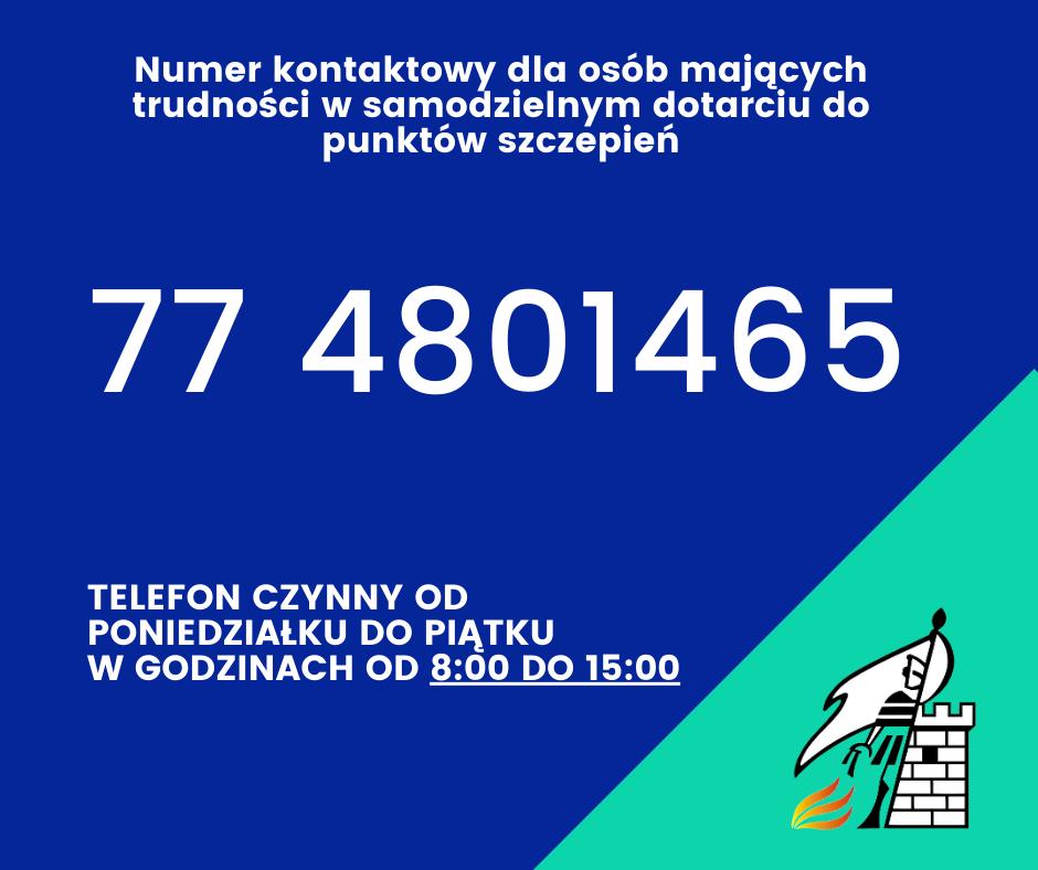 Numer kontaktowy dla osób mających trudności w samodzielnym dotarciu do punktów szczepień (1).png