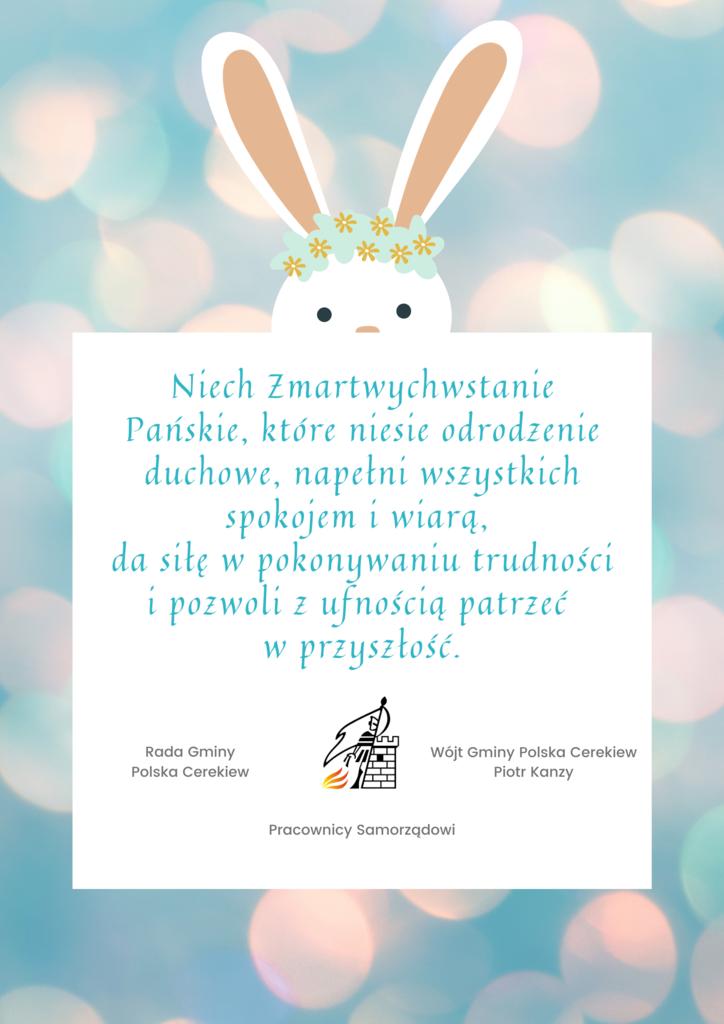 Lawendowy i Turkusowy Zajączek Super Swiss Wielkanoc Kościół Plakat.png