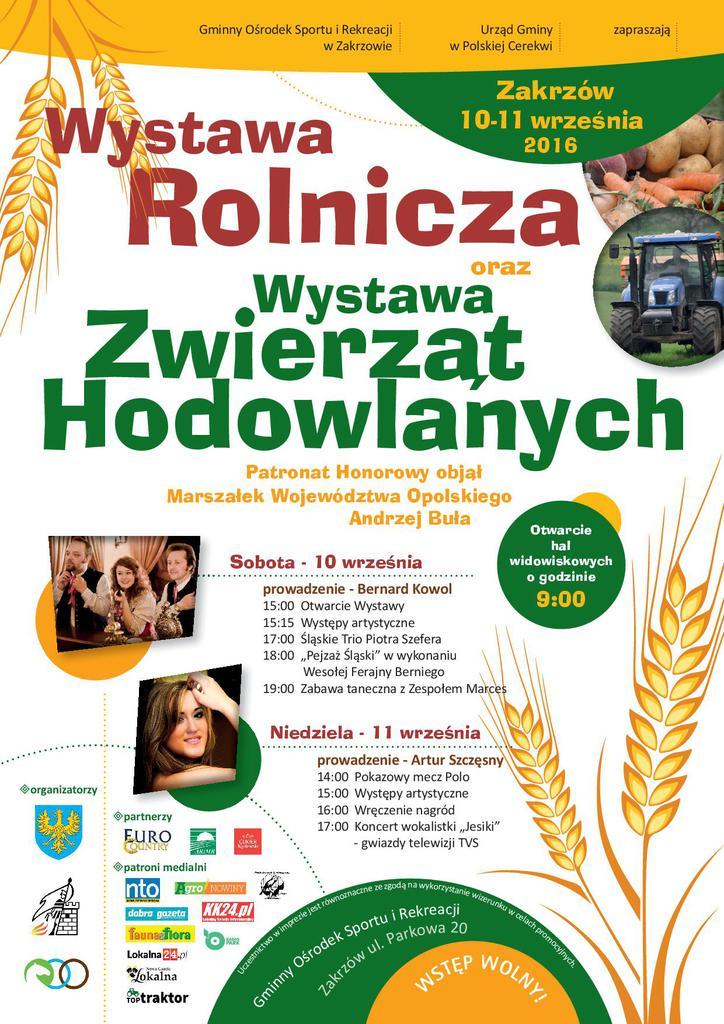 plakat wystawa rolnicza-Zakrzów 10-11 września2016.jpeg